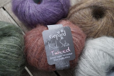 Gepard Garn Kid Seta Tweed