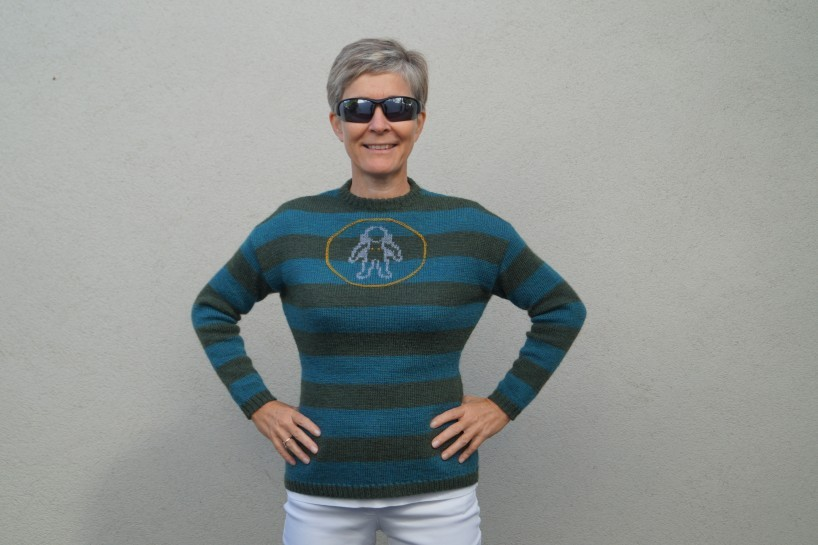 Anleitung Woman on the Moon- Sweater