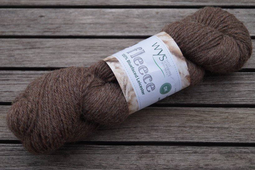 Bluefaced Leicester Naturals Brown