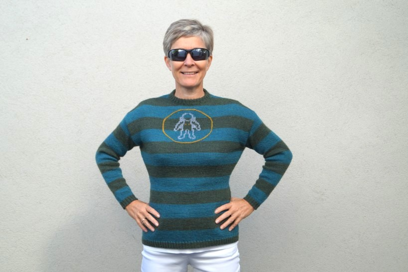 """Anleitung """"Woman on the Moon- Sweater"""""""