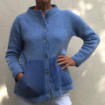 Raglanjacke Easy-Going aus Shetlandwolle